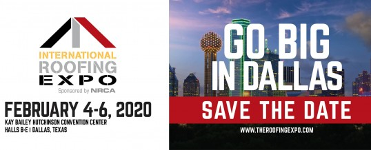 International Roofing Expo 2020